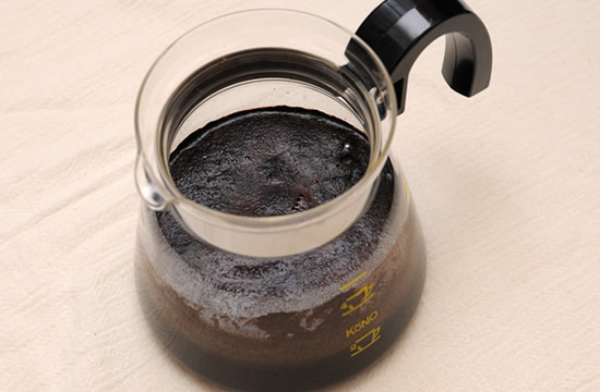 暑いので簡単水出しアイスコーヒーを作ろう