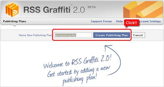 Facebookアプリ 『RSS Graffiti 2.0』の設定方法